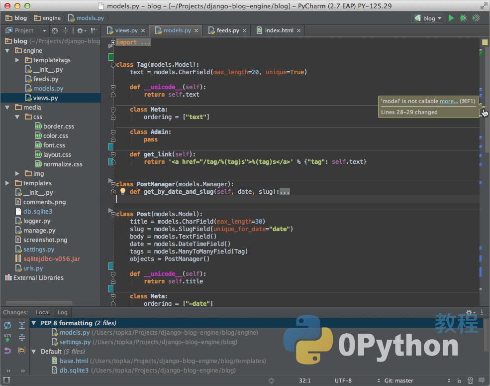 PyCharm-Python IDE开发环境